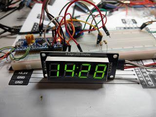 STM32F103C DS3231 TM1637