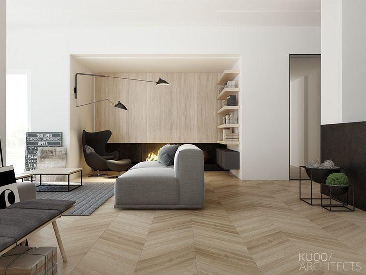 Norwegia // Dom Jednorodzinny // 350 M2 | Kuoo Architects - Warszawa, Łódź