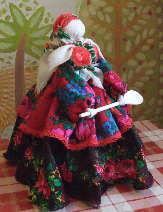 тряпичная кукла Барыня-Хозяюшка