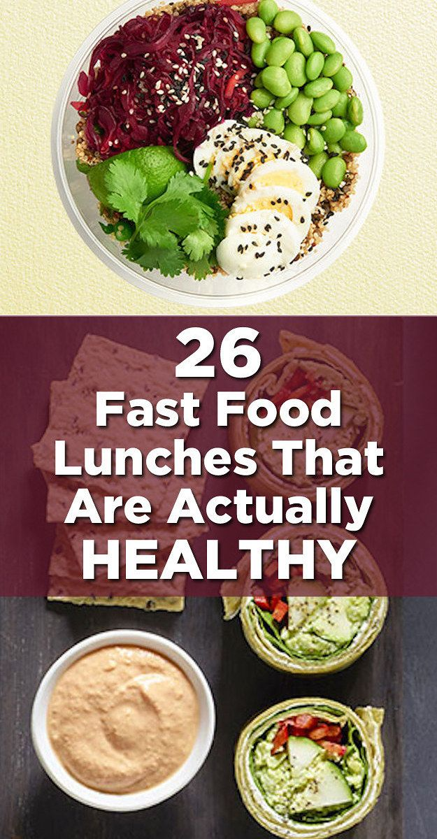 26 fast food lunches that are actually healthy pinterest id e repas recettes sant et repas. Black Bedroom Furniture Sets. Home Design Ideas