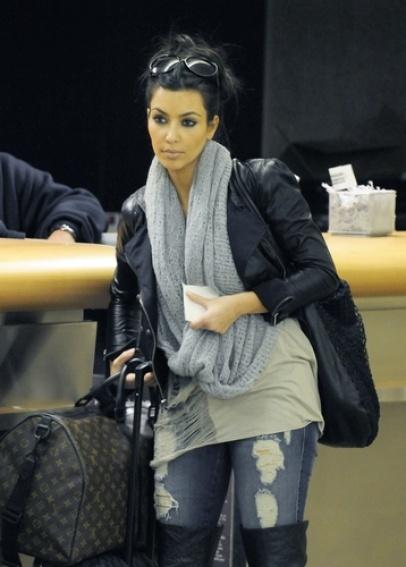 Kim Kardashian/ casual style