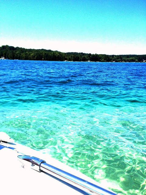 Torch Lake Michigan Spent Alot Of Hours On This With Jb