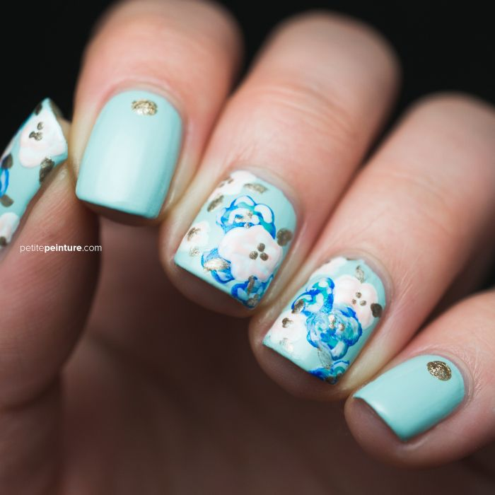 Nail Designs For Wedding Party: 17 Best Ideas About Blue Wedding Nails On Pinterest