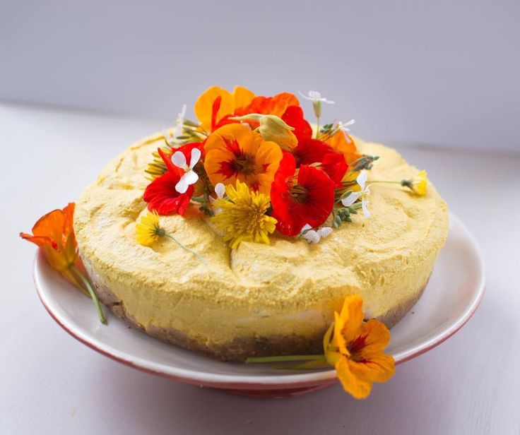 Maisie's vegan mango and turmeric cake for Wellington chapter