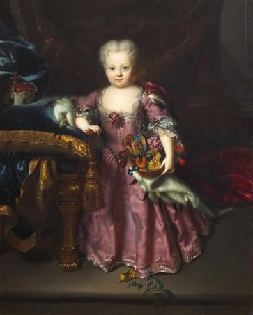 Archduchess Maria Amalia. A younger sister of the famous Empress Maria Theresa. Maria Amalia died at age six.