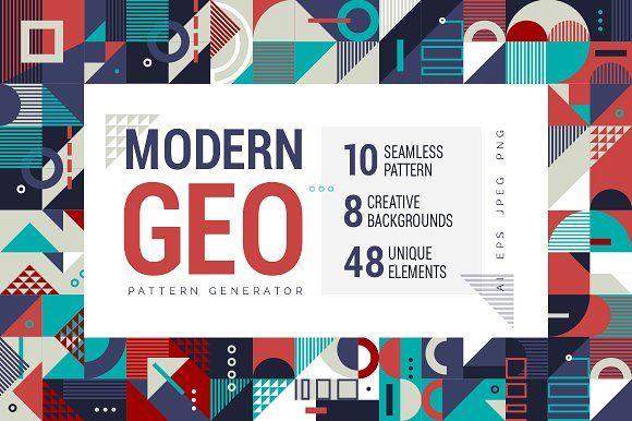 Modern Geometry Pattern Generator With Images Geometry Pattern