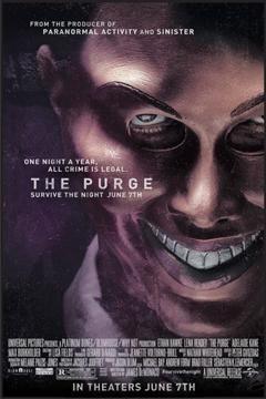 The Purge #horror #movie