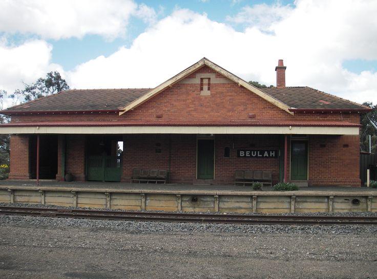 Beulah Railway Station