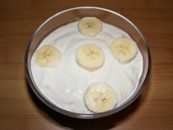 Bananenquark - Rezept