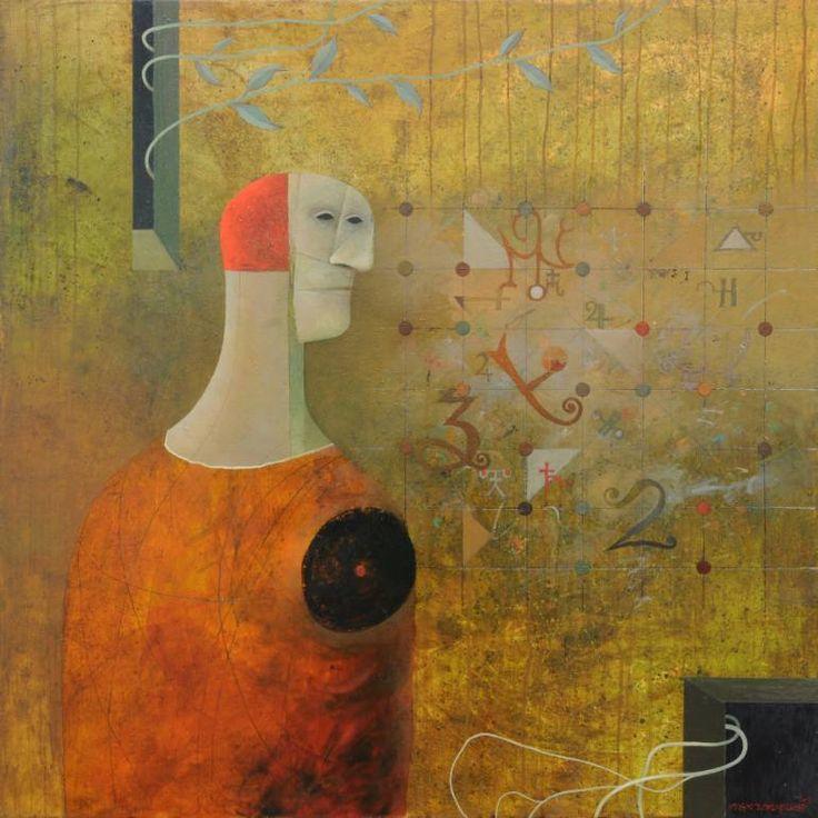 "Saatchi Art Artist Alex Berdysheff; Painting, ""Miracle of Existence"" #art"