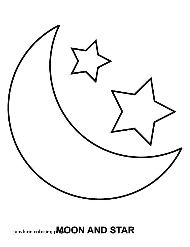 Sunshine Coloring Page Doodle Moon And Sun Adult Coloring Page