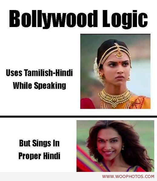 cool The logic of bollywood