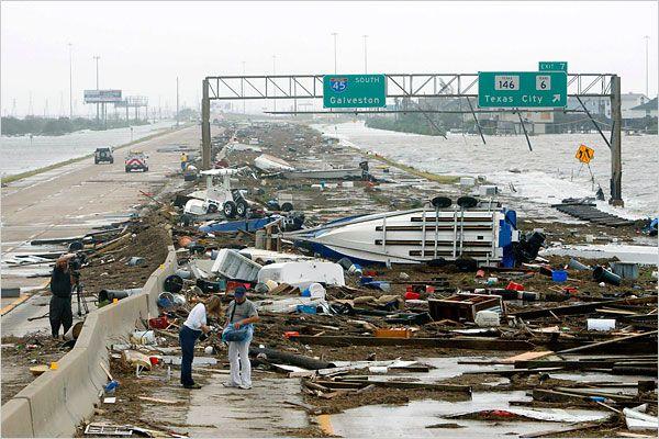 Hurricane Ike, Houston, TX