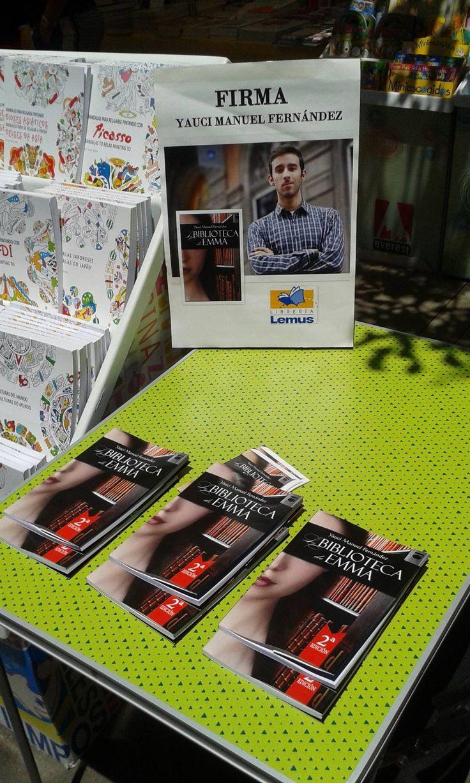 Feria del Libro de Santa Cruz de Tenerife 2015.