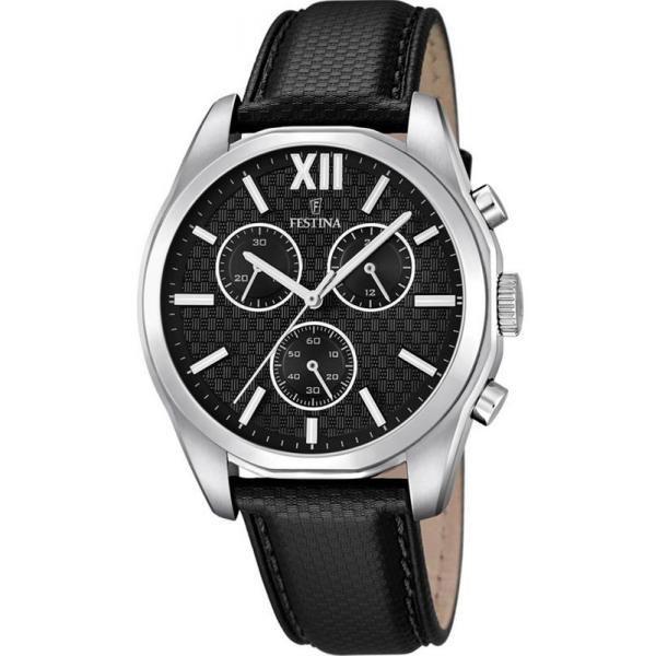 Festina Herrenuhr Elegance F16860 1 Quarz Chronograph Gunstig Online Kaufen Bei Crivellishopping De Kostenloser Versand Fest Uhren Armbanduhr Und Uhren Herren
