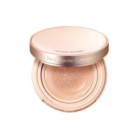 (ETUDE HOUSE) Real Powder Cushion - 14g (SPF50)