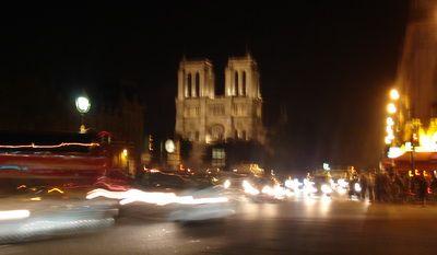 Paris at Night Notre Dam