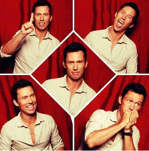 Jeffrey Donovan in TV Guide Magazine - Seriously such an AMAZING actor, and this picture is adorable.