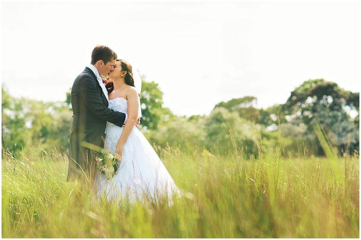 Prested Hall Wedding Portrait