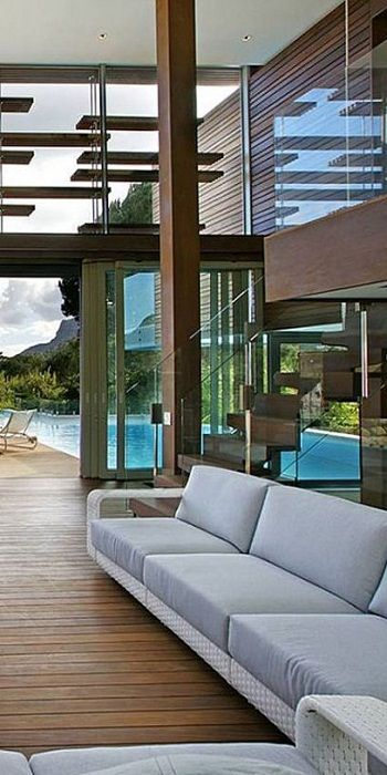Modern in and outdoor space