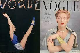Risultati immagini per copertine vogue anni 50