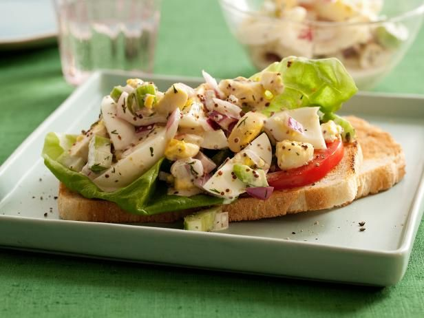 Get Chunky Egg Salad Recipe from Food Network