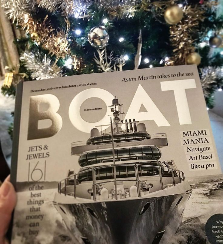 On the first day of Christmas my true love gave to me... a copy of Boat International of course! The perfect reading material for those cold December days as you can whisk yourself away to warmer climes via our Voyage section - from Miami to Bermuda... For a half price subscription use code FB1216 at boatinternational.subscribeonline.co.uk #boatinternational #december1st #caribbeandreaming #yachtlife #luxurytravel #caribbean #artbasel #miami #bermuda