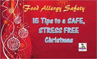 Parenting a child with Multiple Food Allergies: 15 Tips to a Safe and Stress Free Christmas