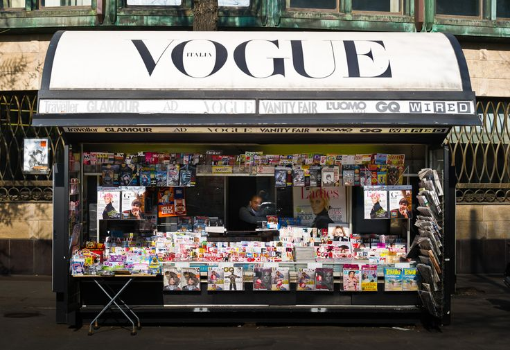 Sunday Mornings, Fashion, Italian Vogue, Style, En Vogue, News Stands, Vogue Magazines, Reading Lists, Photography Inspiration