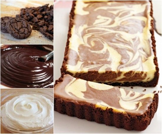 Choclolate Ripple Cheesecake