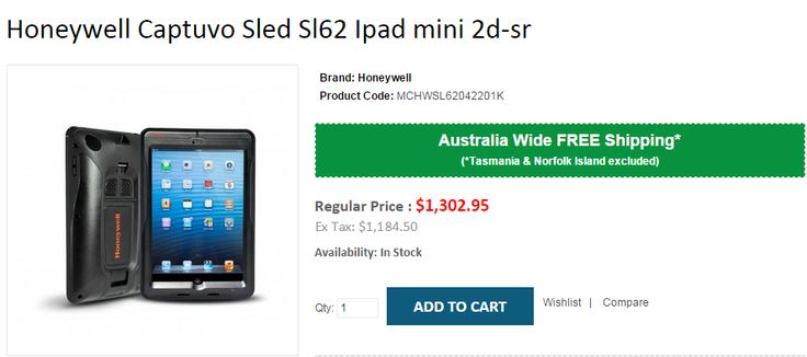Are you searching for Honeywell Captuvo Sled Sl62 Ipad mini 2d-sr? OnlyPOS @BEST Prices with FREE Shipping in Australia..!  http://www.onlypos.com.au/Honeywell-captuvo-sled-sl62-ipad-mini-2d-sr