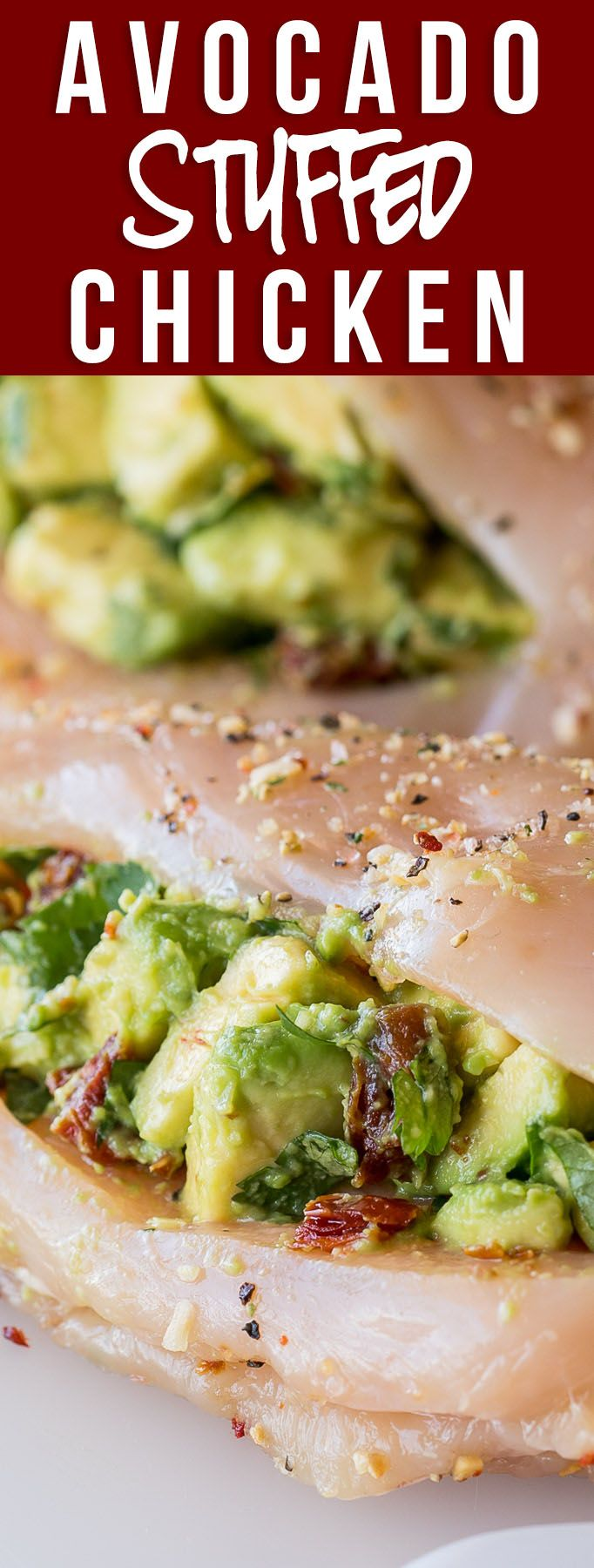WINNER! My whole family LOVED these Avocado Stuffed Chicken Breasts! Super easy filling and the chicken was moist and delicious! Definitely a new family favorite chicken dinner recipe! via @iwashyoudry