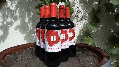 6x0,75l Bandido spanischer Rotwein für brasilianische Banditensparen25.com , sparen25.de , sparen25.info