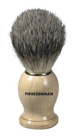 Tweezerman Badger Shaving Brush