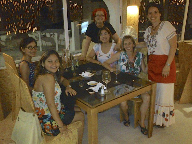 fiesta mexicana en Albaranas de mil sabores