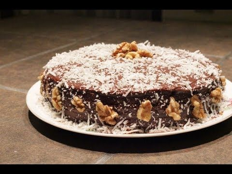 Sugar Free German Chocolate cake I made. It should only take you a few hours, but it took me 12 to get all the sugar free components & the video!