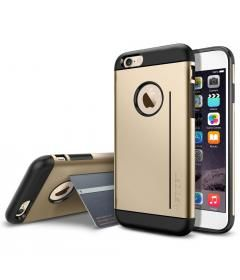 Spigen iPhone 6 Slim Armor S Gold Kılıf