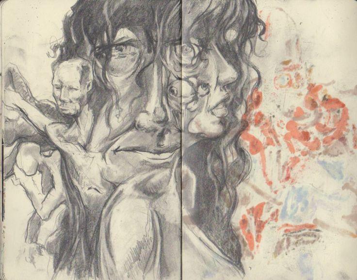 face doodle by SchmidtFabian on DeviantArt