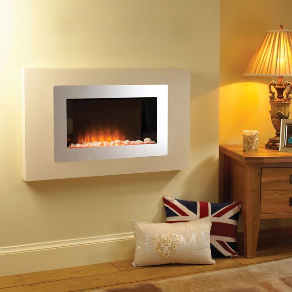 Comodo Hang On The Wall Electric Fire Living Room