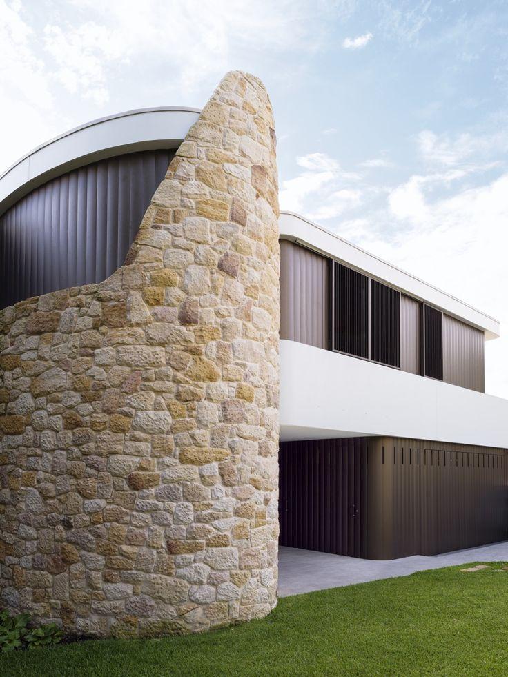 INTERIORS Alwill Interiors ARCHITECTURE Alwill Design  #architecture #design #outdoor #sandstone #wood
