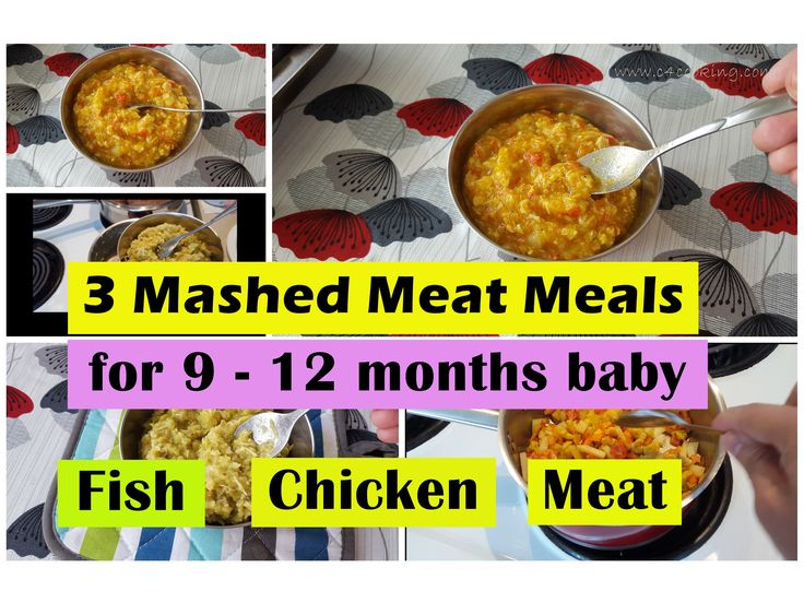 8 best 9 months baby food recipes images on pinterest baby food 3 fishchickenmeat meals for 9 12 months baby forumfinder Images