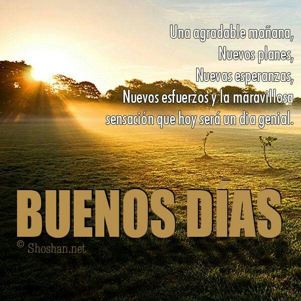 88 Best Images About Buenos Días On Pinterest