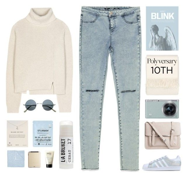 """""""Celebrate Our 10th Polyversary!"""" by amazing-abby ❤ liked on Polyvore featuring Proenza Schouler, Zara, Blink, Bellora, Pieces, Samsung, adidas Originals, Dogeared, Toast and Le Kasha"""