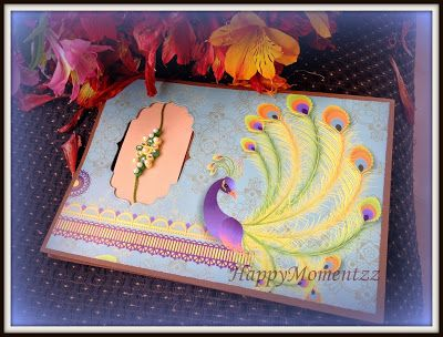 HappyMomentzz crafting by Sharada Dilip: Rakhi Cards with Quilled Rakhi handmade rakhi cards