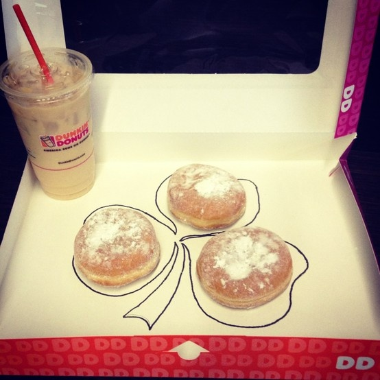 Top o' the Mornin' to Ya! Celebrate St. Patrick's Day with our Irish Creme DDonuts and seasonal coffee's!