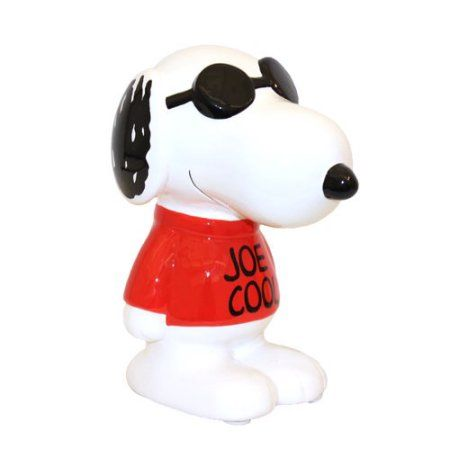 Peanuts Snoopy Joe Cool Bank - Walmart.com