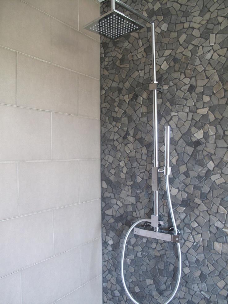 Pin by brukomtegel on badkamer wandbekleding pinterest - Wandbekleding voor wc ...