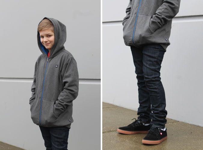 @quiksilver Core Hoody & @vans V76 Skinny Jean