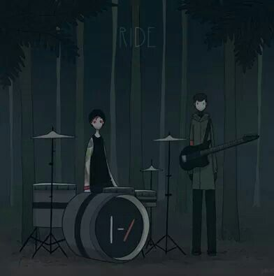 Fan art twenty one pilots cartoon ride~k