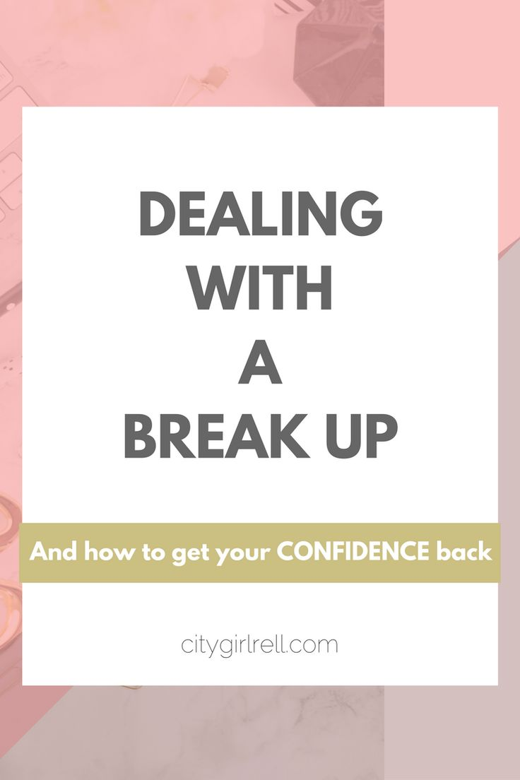 coping with the breakup of a relationship